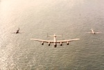 BBMF Jersey Air Show 7 May 1985 – Returning Home with 47 Sqn Falcons Hercules (3)