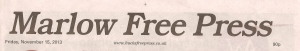 Marlow Free Press 15 Nov 2013