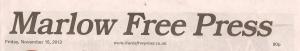 Marlow Free Press 15 Nov 2013