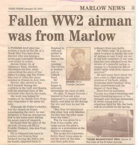 Marlow Free Press - 18 Jan 2013