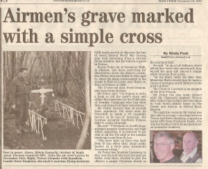 Marlow Free Press - 18 Nov 2005