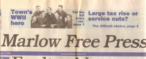 Marlow Free Press - Title