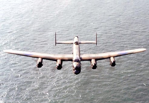 BBMF Lancster English Channel 1985
